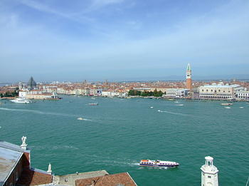 view of the Doge's Palace, St. Mark's Church and indeed over the entire old city
