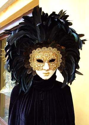 Typical Venetian souvenirs for instance are masks that are worn in the Carnival of Venice.